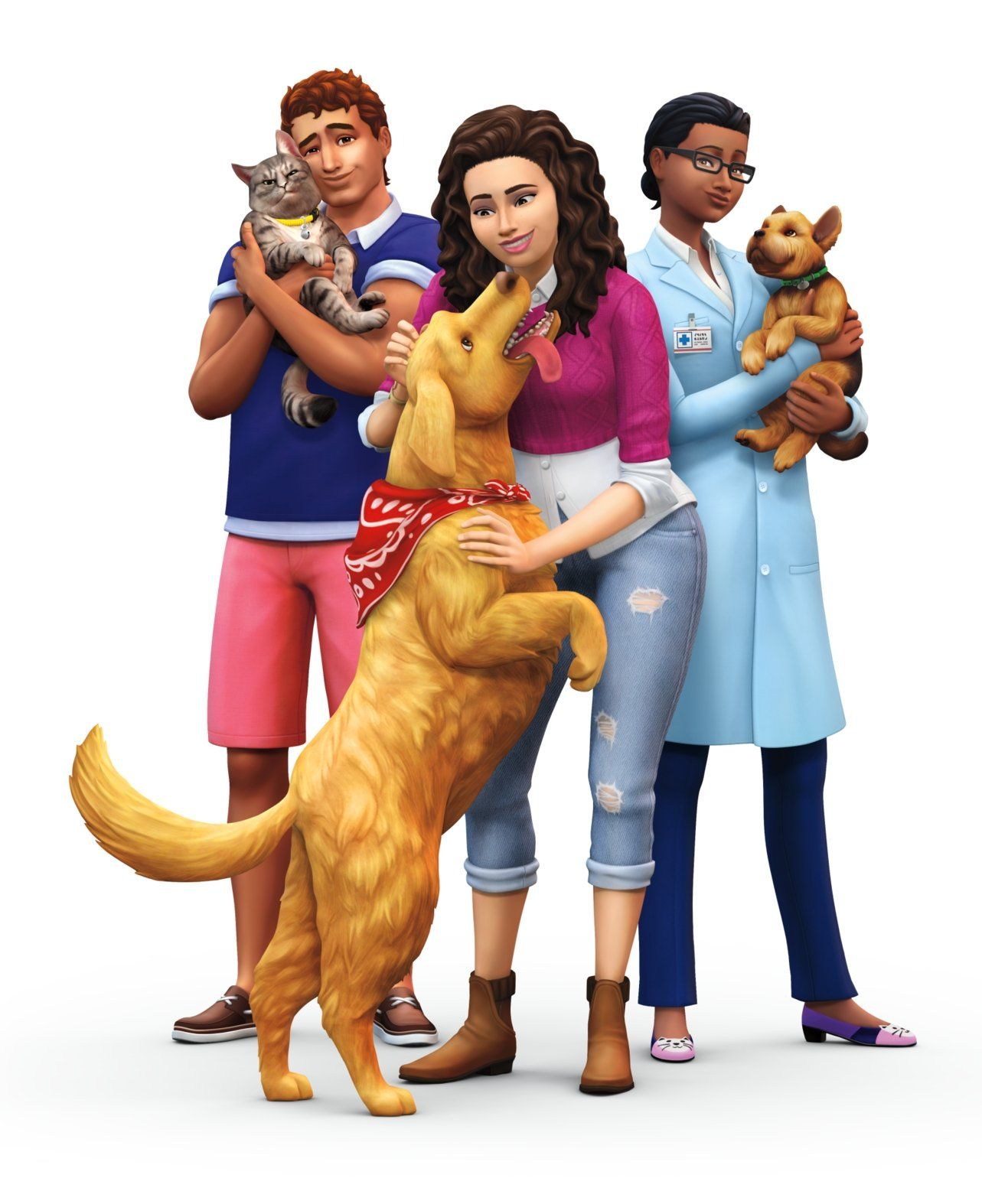 In The Cats And Dogs Dlc Sims Pets Sims 4 Sims
