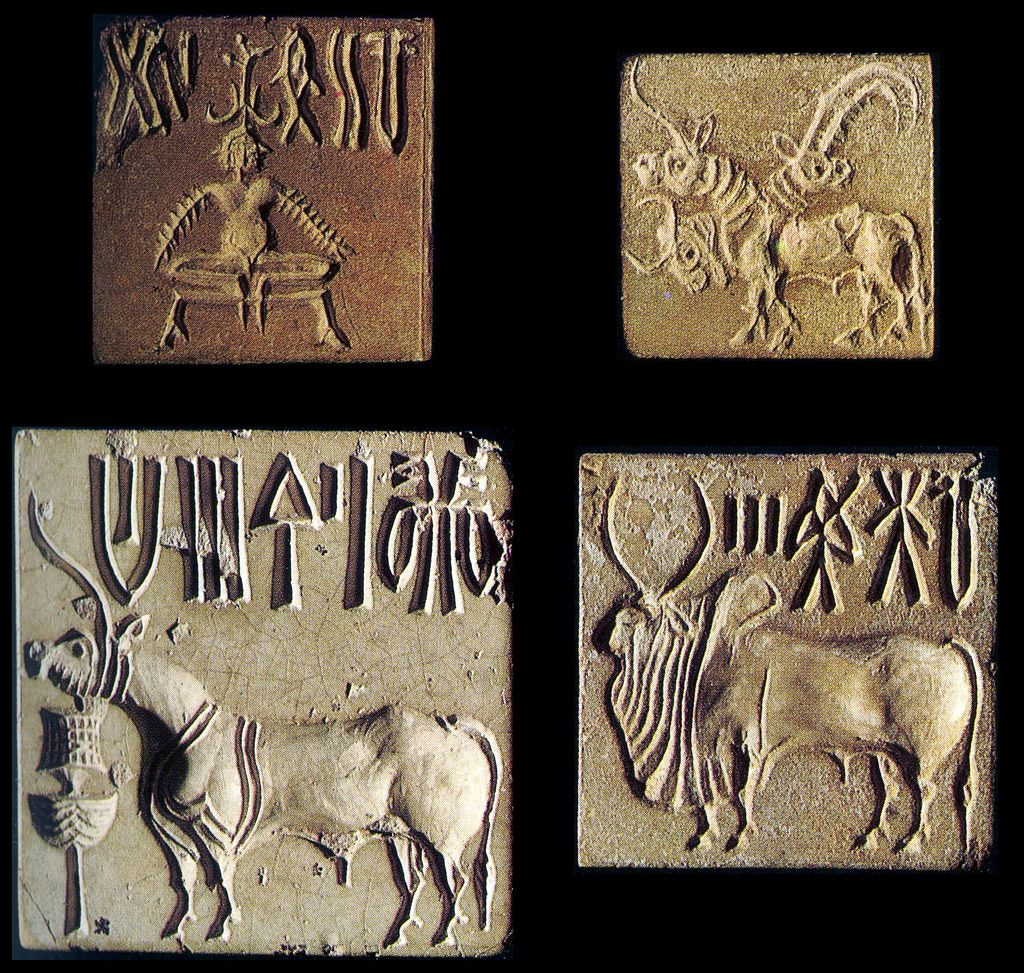 square seals from mohenjo daro bc image by asaf braverman square seals from mohenjo daro 2500 bc image by asaf braverman via