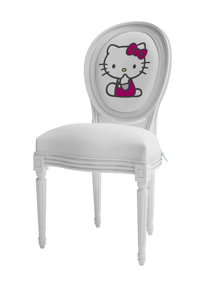 89b91d0db hello kitty chair. Could probably DIY this given time to figure it out.