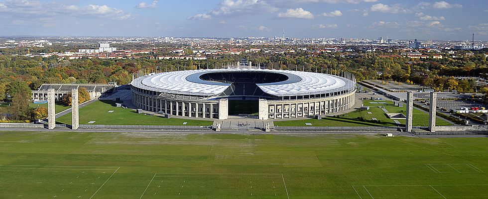 Maifeld Berlin Olympische Spiele Olympia Anlage