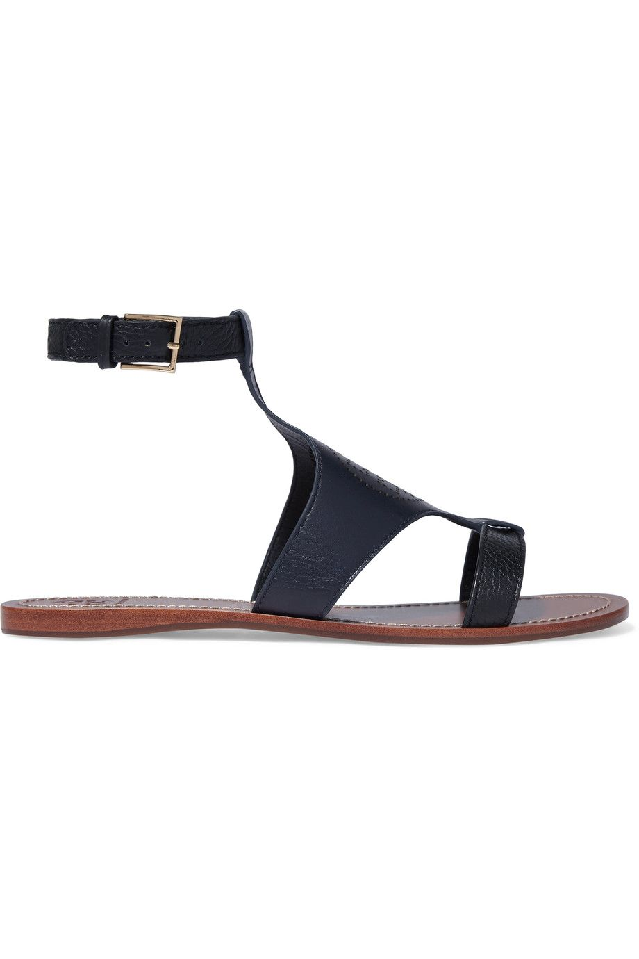 0c5b0805e85d Leather · Tory Burch Perforated leather sandals