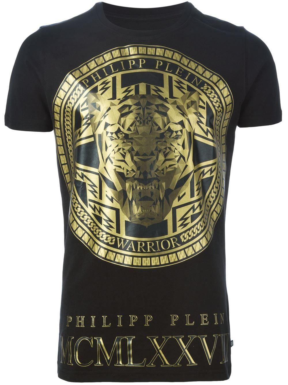 8084d20a0b Philipp Plein 'medallion' T-shirt - Wellens Men - Farfetch.com ...