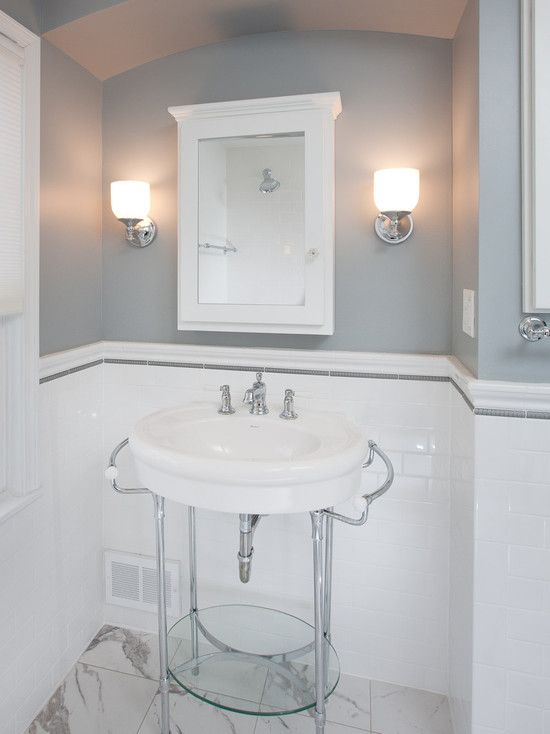 Genial Bathroom 1940u0027s Design, Pictures, Remodel, Decor And Ideas. Like Inlay At  Top