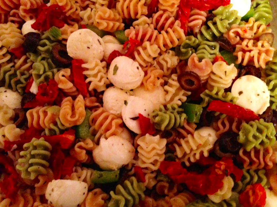 The Healthy Food Detective : Summer dish: Tri-Color Italian Pasta Salad