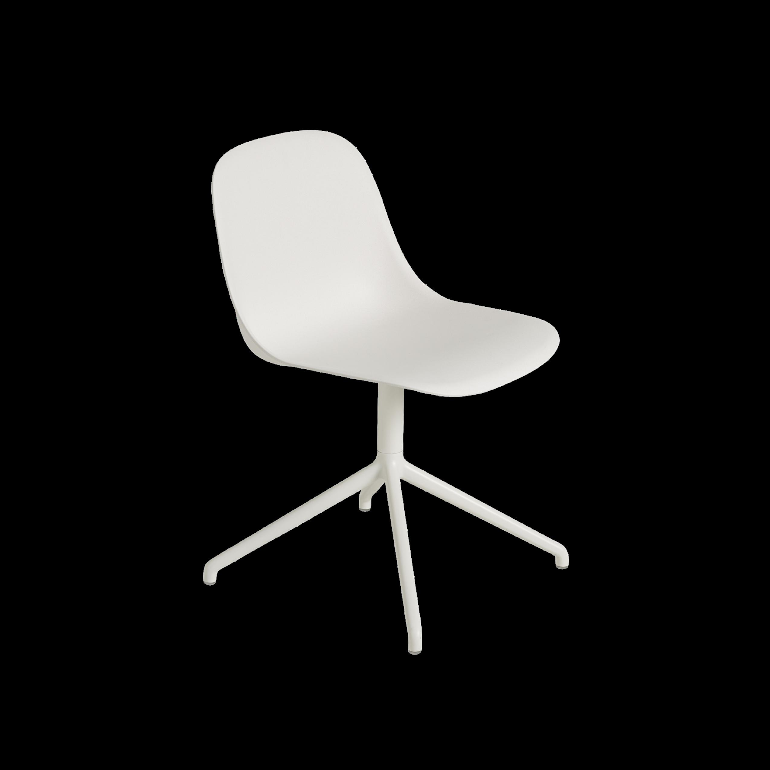Muuto Fiber Side Chair Swivel Base on Castor