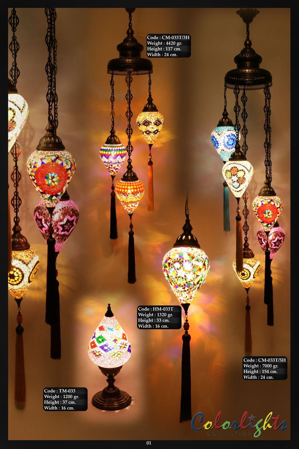 Mosaic lamps ottoman lamps turkish lighting manufacturercatalogs