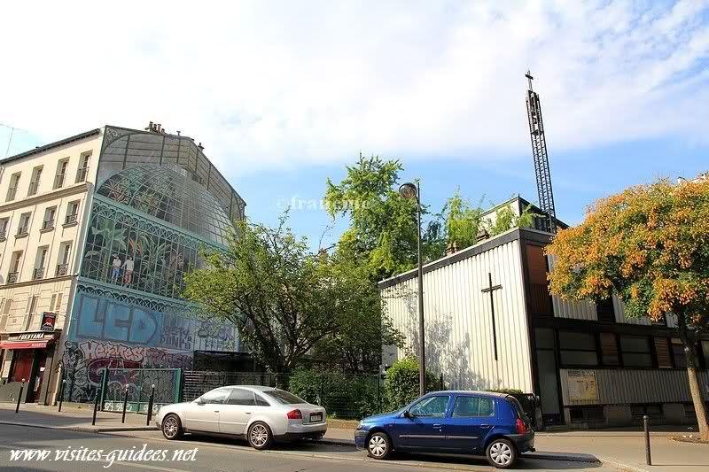 Peinture murale rue de Reuilly, 75012, Paris