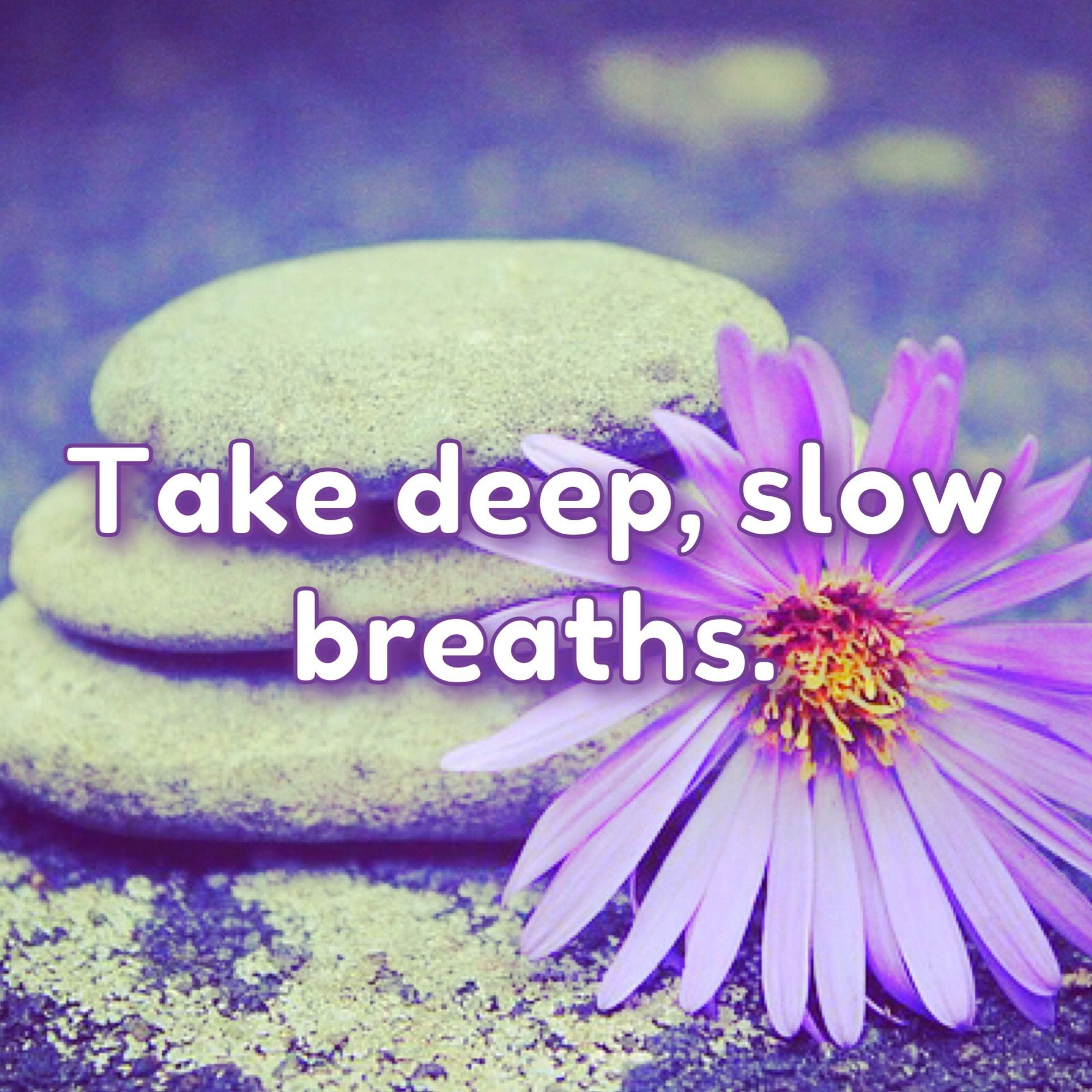 Sometimes the best thing you can do for your health is to take deep breaths.