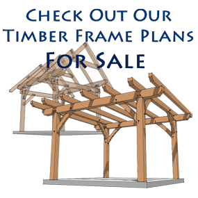 16x24 Timber Frame Plan Timber Posts Shed Plans