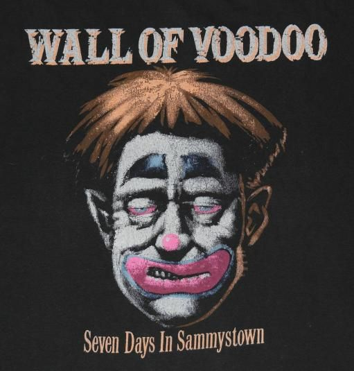 Vintage Wall of Voodoo tour shirt. Sleeves cut off - rest of shirt is in excellent condition.