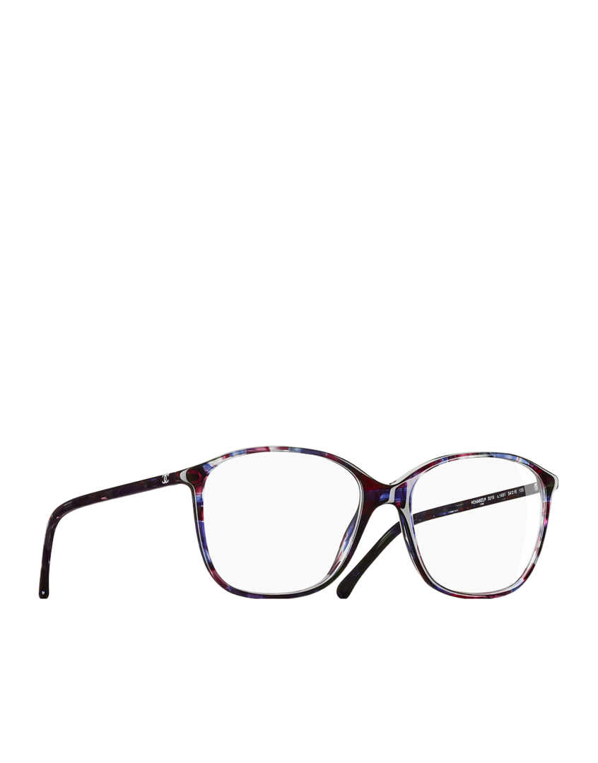 Lunettes de vue, acétate-violet multicolore - CHANEL   Glasses ... a744c1c38d2a