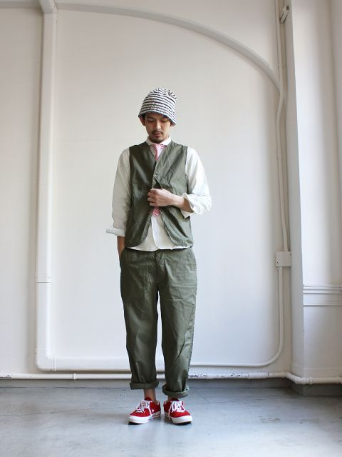 Japanese Workwear style, my kind of look. Comfort and functionality!