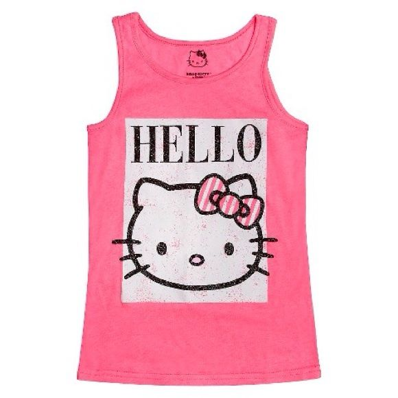bf2c3f036 Hello Kitty Girls' Tank Top Brand new with tags. (Kids size) Hello Kitty  Tops Tank Tops