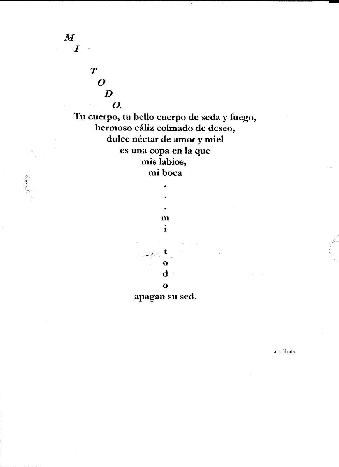 Poesía Visual Buscar Con Google Caligramas Faciles