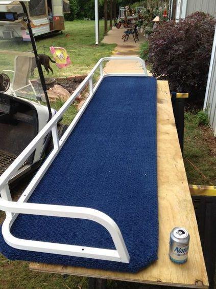 Pontoon Boat Furniture Ideas: DIY Pontoon Sundeck Over Motor