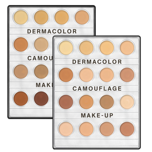 Kryolan Dermacolor Camouflage Creme Mini Palette 16 Colors In 2018