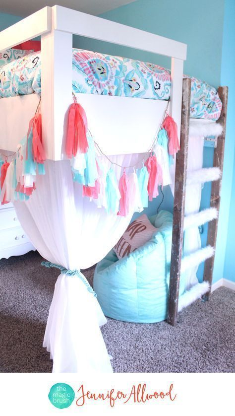50 Cute Teenage Girl Bedroom Ideas | Pretty Bedroom, Color Patterns And  Blue Girls Bedrooms