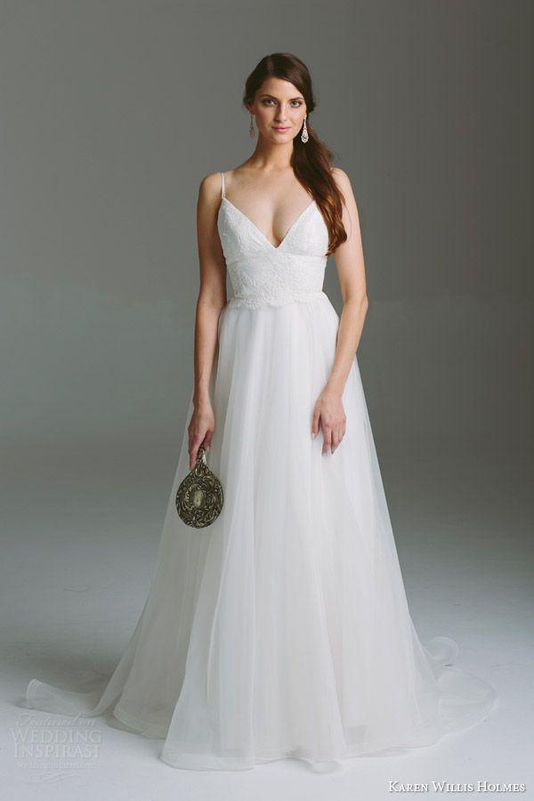 Karen Willis Holmes 2015 Bespoke Bridal Collection