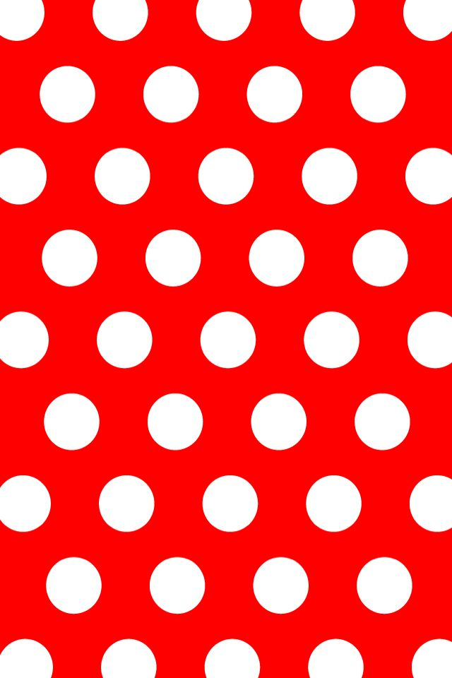 Red And White Polka Dot Background : white, polka, background, Polka, Wallpaper,, Phone, Wallpaper, Patterns