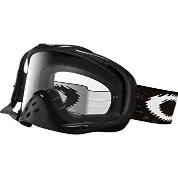 1a0ef93bb6a Oakley Crowbar MX Goggle Jet Black Clear