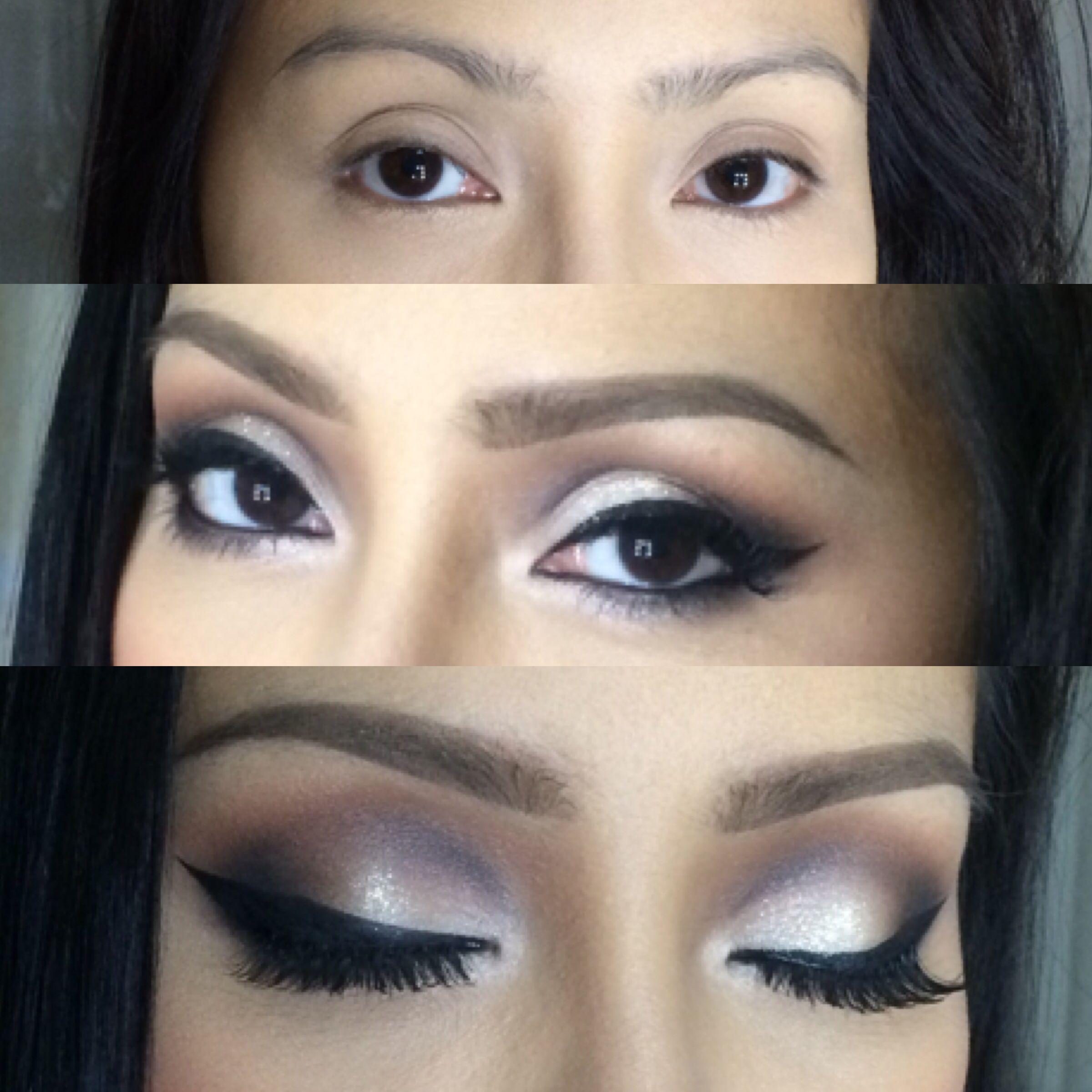 Consejos de maquillaje para ojos hundidos