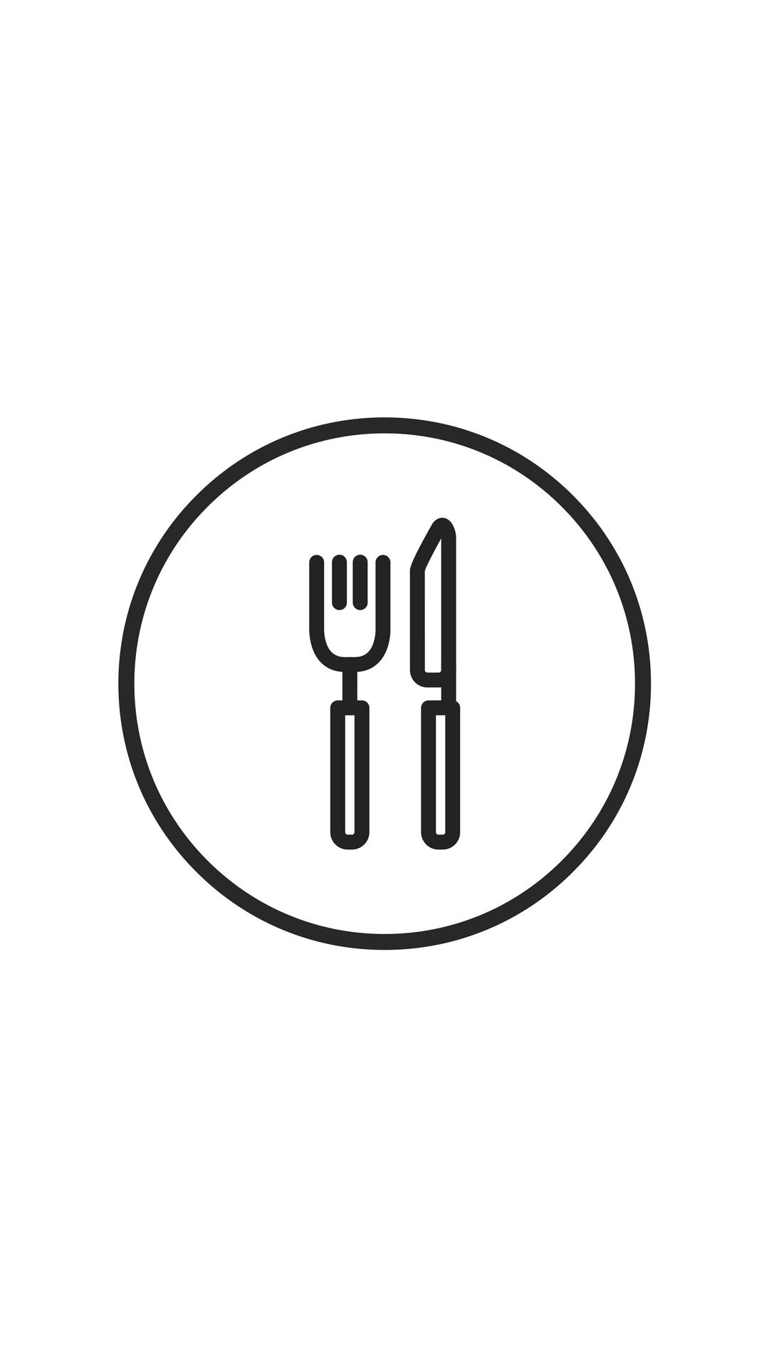 Instagram Highlight Cover Food White Minimalist Theme Logotipo Instagram Instagram Dicas Ideias Instagram