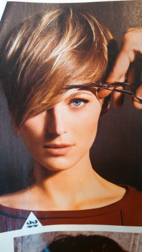 Brown Pixie With Blonde Highlights Hair Envy In 2018 Pinterest