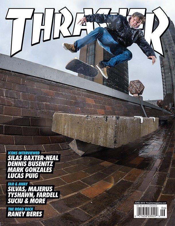Thrasher Magazine June 2016.