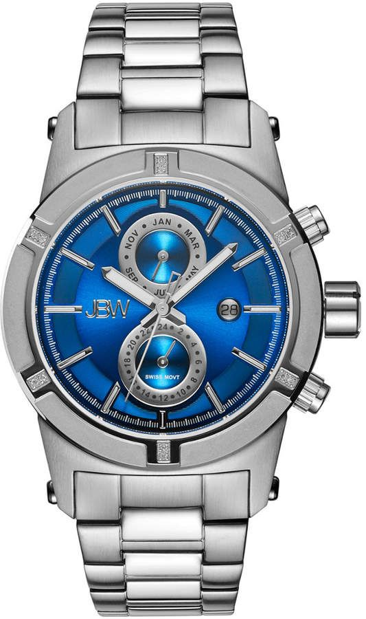 f305288b616 JBW Men s Strider Diamond   Crystal Watch