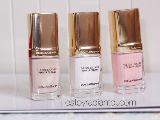 Laca de uñas de Dolce Gabbana http://www.estoyradiante.com/2015/02/nuevos-tonos-para-unas-de-dolcegabbana-nail-restage/   Dolce & Gabbana Nail Lacquer Collection for Spring 2015