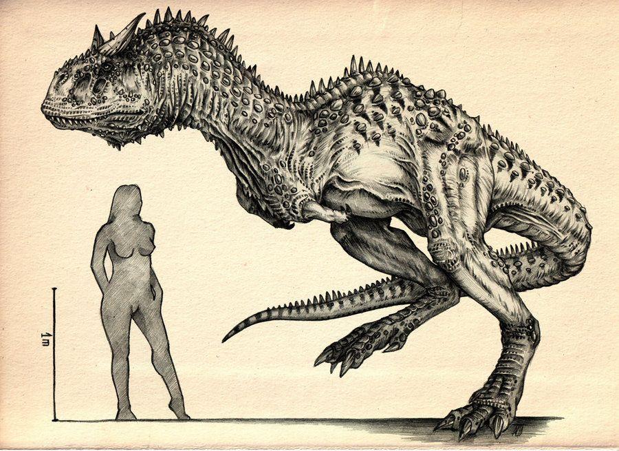Carnotaurus II by AntarcticSpring on DeviantArt | long dead ...