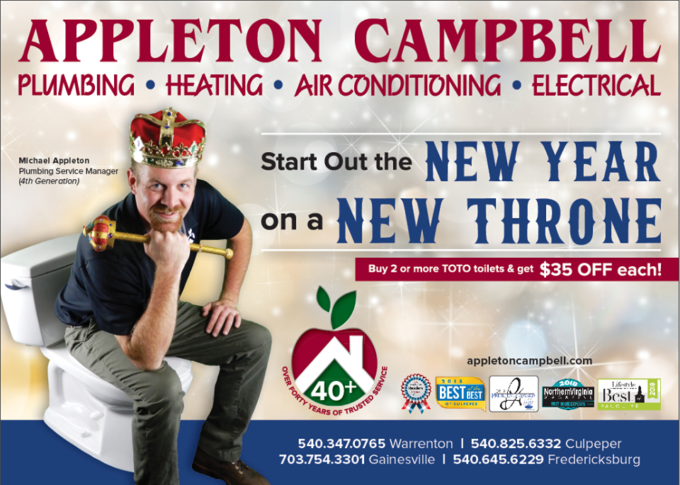 Start Out The New Year On A New Throne Plumber Appleton Plumbing