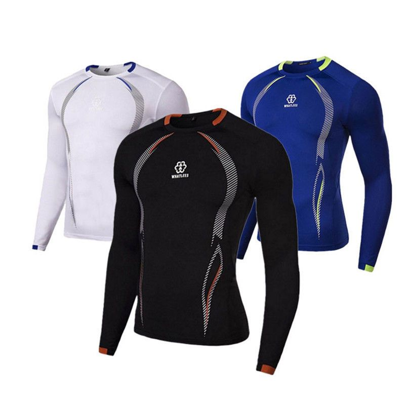 35f4e12322 $7.75 - Men Tops Sportwear Compression Under Base Layer Shirt Tight Long  Sleeve T Shirt #ebay #Fashion