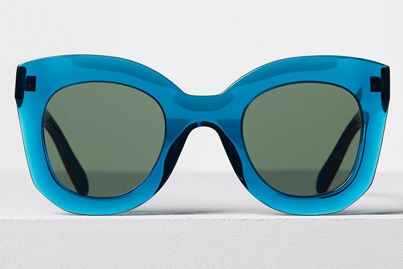 Transparent Turquoise SunglassesGrey Marta Celine Acetate Green qSpUMzVG