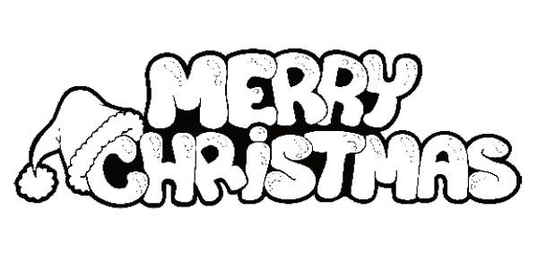 merry christmas coloring pages 08 Merry christmas