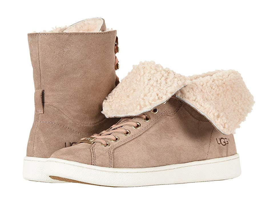 e4b3e42a367 UGG Starlyn (Fawn) Women's Lace up casual Shoes. Go for striking ...
