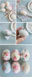 como fazer decoupage de páscoa em ovos passo a passo artesanato de páscoa 03