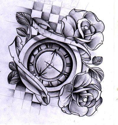 Shoe Project By Willemxsm On Deviantart Clock Tattoo Design