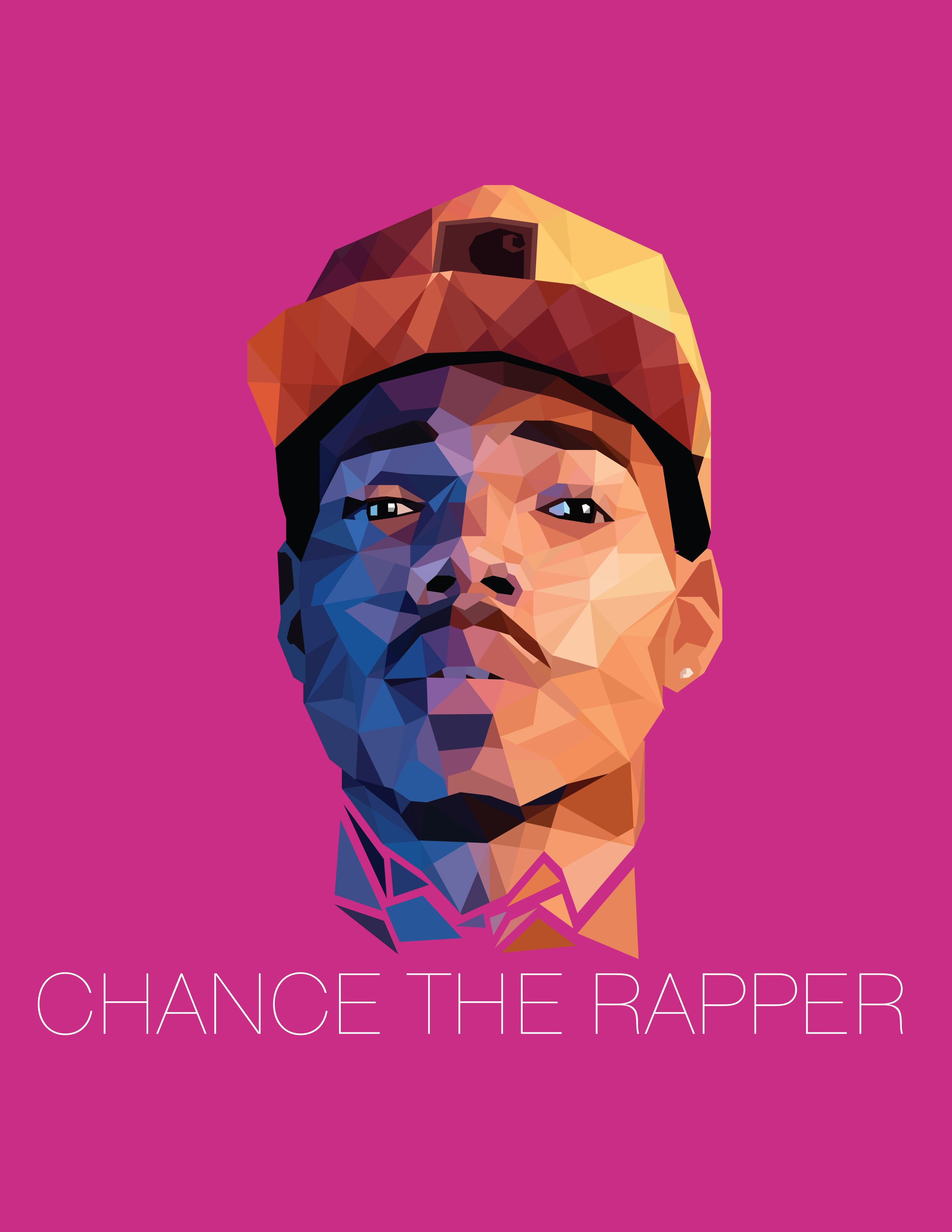 Chance The Rapper Poster By Dezlim On Reddit Chance The Rapper Chance The Rapper Wallpaper Chance The Rapper Art