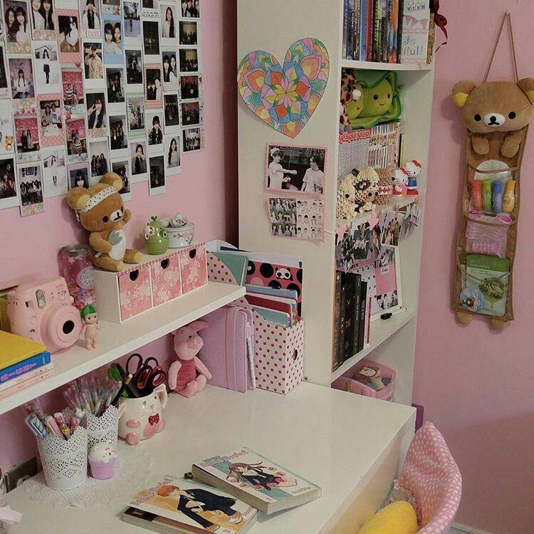 Pin de sakura ayano en kawaii stuff pinterest ideas for Dormitorio kawaii