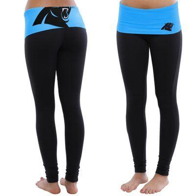 5573b1b94ce9f4 Carolina Panthers Women's Sublime Knit Legging – Black | Carolina ...