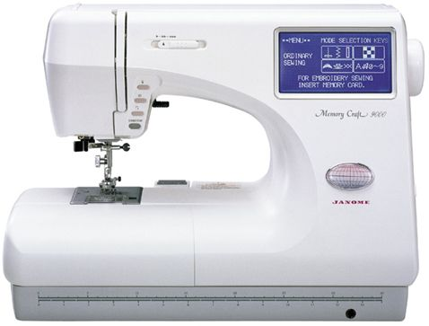 My Wife S Janome Memory Craft 9000 Embroidery Sewing Machine
