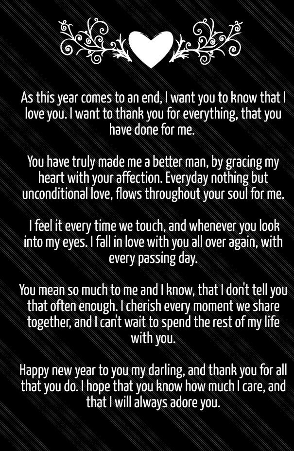 Happy New Year 2020 Love Poems for Her & Him | Happy new ...