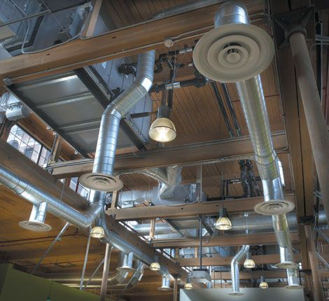 The mechanical engineer is responsible for sizing the heating and ...