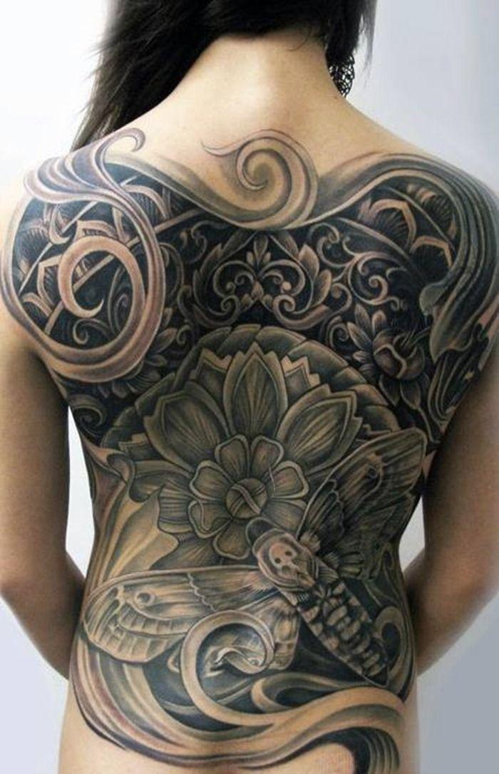 coolfullbacktattoosforwomen201383 Back tattoo