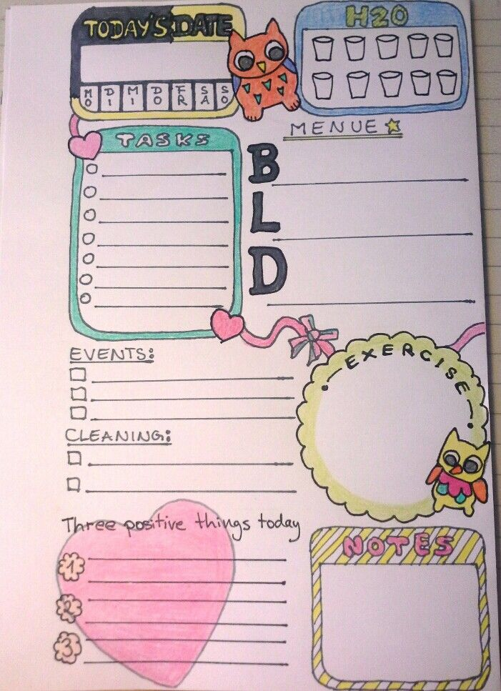 Diy Day Planner Back To School Hacks Day Planners School Hacks Diy