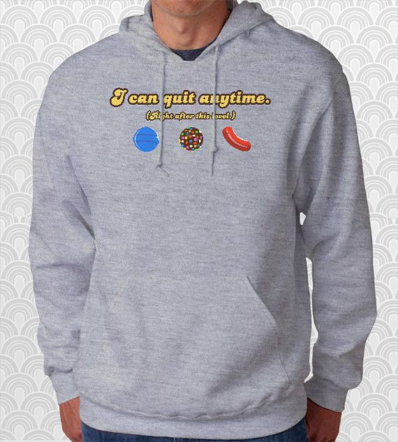 Candy Crush Saga Hoodie. by FishbiscuitDesigns. http://www.fishbiscuitdesigns.com/collections/hoodies/products/candy-addict-hoodie