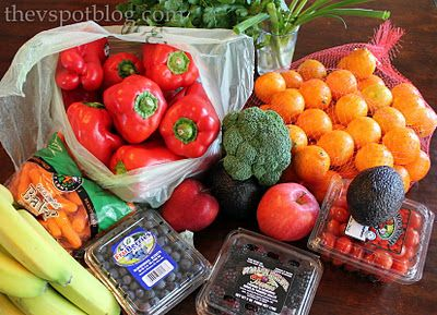 how to store fresh fruit & veggies   wow guess i need to go get my onions out of my potato bowl now