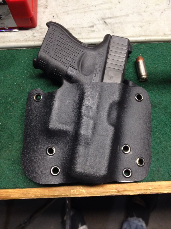 G27 owb holster hot off the press | Kydex | Kydex holster