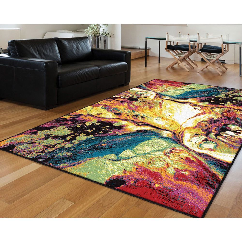 Best Rhapsody Smp1004 Multi Colored Area Rug 8 X 11 640 x 480
